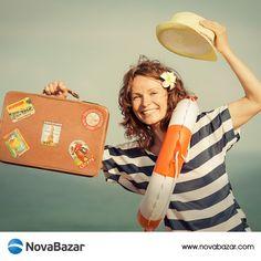 Tatile çıkarken bavulunuzu kontrol edin, belki de unuttuğunuz bir şeyler vardır. http://www.novabazar.com/Makya…/Gunes-ve-Bronzlasma-urunleri