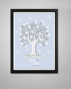 Our beautiful Winter Tree kit is slightly different to our other kits containing a snowflake rubber stamp and silver pen Available in 3 sizes A4 A3