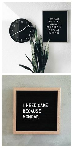 The most versatile decoration for your home - the letterboard. Totally in love with letterfolkco and all of the fun boards they create!