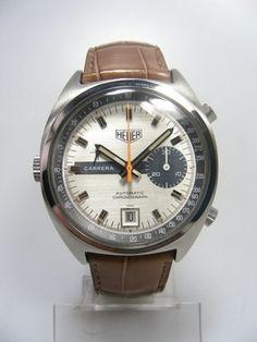TAG Heuer Carrera   553 chronograph vintage calibre