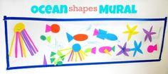 Ocean Shapes Mural