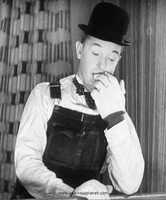 Stan Laurel | Sunday morning was Laurel and Hardy comedy hour.