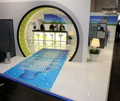 Exhibition stand flooring