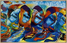 Maskerade I - L. Vermeulen | Kunstuitleen Rotterdam