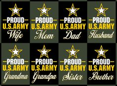 Show your Army family pride with this collection of Armed Forces sweatshirts, hoodies, t-shirts and tanks.