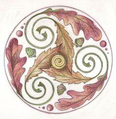 Triple Leaf Trisk by Spiralpathdesigns on deviantART