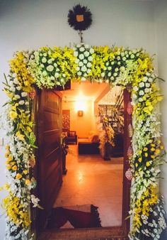 When you're looking for flower decorators in Hyderabad or Wedding Stage Decoration, choose the best professionals. Mars Event Planner would help make your perfect celebration happen in a unique and luxurious style. Diy Diwali Decorations, Marriage Decoration, Wedding Stage Decorations, Backdrop Decorations, Backdrops, Wedding Entrance, Entrance Decor, Door Flower Decoration, Mehndi Decor