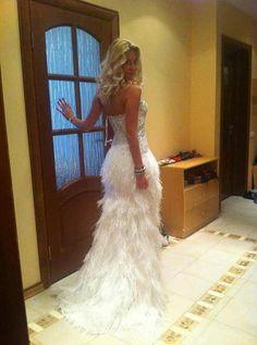 Wedding Dresses #fluffy #ruffles
