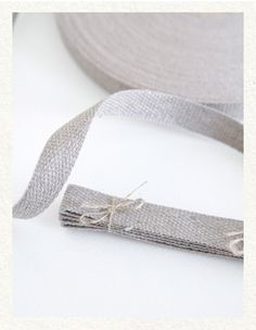 natural linen tape @Amanda Bratton thought u would like this
