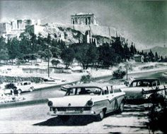 Athens (c.1960) Greece Pictures, Old Pictures, Old Photos, Attica Athens, Athens Greece, Greece Photography, Miles To Go, Greek Culture, Good Old Times