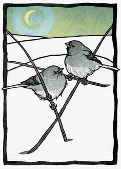 Block Prints on Pinterest | Wood Engraving, Lino Prints and Lino Cuts