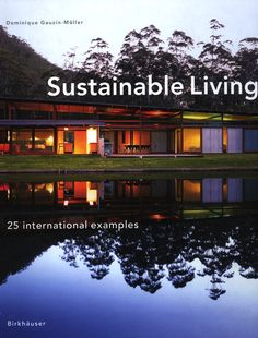 sustainable architecture - going to look for this book.