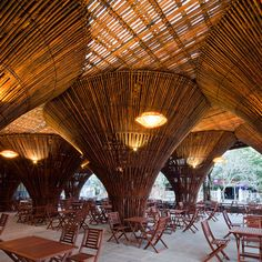 "Bamboo is the ""green steel of the 21st century,"" according to Vietnamese architect Vo Trong Nghia."