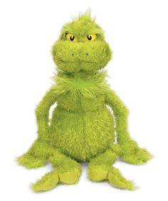 Another great find on #zulily! Grinch 20'' Plush Toy #zulilyfinds