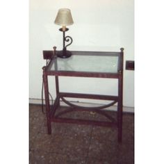 Bedside Table Wrought Iron. Customize Realizations. 885