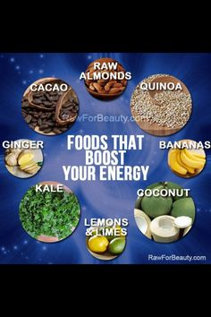 Raw for beauty energy
