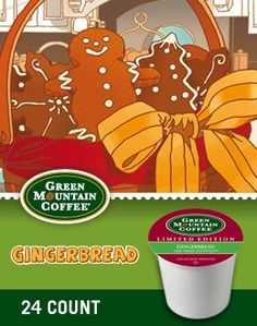 Green Mountain Coffee Fair Trade Gingerbread K-Cup (96 count) >>> Visit the image link more details.
