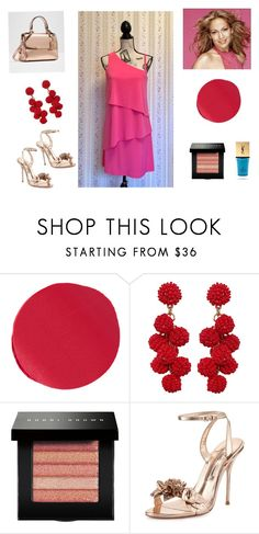 """Untitled #255"" by closetdemiamiga on Polyvore featuring moda, Kevyn Aucoin, Humble Chic, La Diosa, Bobbi Brown Cosmetics, Sophia Webster y Yves Saint Laurent"