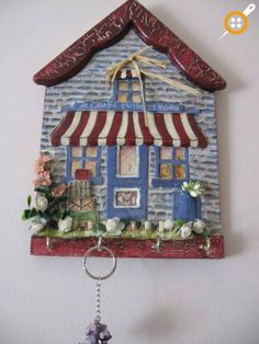 wood keychain box Source by aynurmod The post Wood Painting Keychain Models 60 Pieces & Wooden Painting Objects appeared first on Wooden. Pottery Houses, Ceramic Houses, Home Crafts, Diy And Crafts, Arts And Crafts, Mason Jar Crafts, Mason Jar Diy, Wooden Painting, Barn Wood Crafts