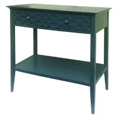 Threshold™ Fretwork Console Table - Teal