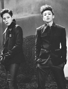 And here we have a case of Himchan's serial killer eyes. B.A.P: Himchan, Jongup