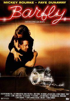 Barfly (1987) Original Italian Movie Poster