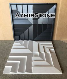 Plastic mold wall panels for plaster (gypsum) or concrete. Form for plaster decor wall panels mold. form for decorative wall panels Concrete Casting, Concrete Forms, Precast Concrete, Concrete Tiles, Diy Concrete, Wall Panel Molding, Diy Molding, 3d Wandplatten, Gypse