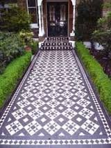Image result for 1930s front garden tiles