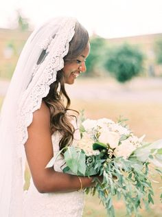 Beautiful hand-detailed lace appliques veil - Veil measures measures 9.8 feet long (3 meters). If you already have a design in mind and want to have a custom made one for you, please don't hesitate to