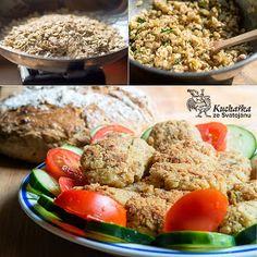 Kuchařka ze Svatojánu: OVESNÉ KARBANÁTKY Raw Food Recipes, Fried Rice, Potato Salad, Fries, Veggies, Potatoes, Cooking, Healthy, Ethnic Recipes