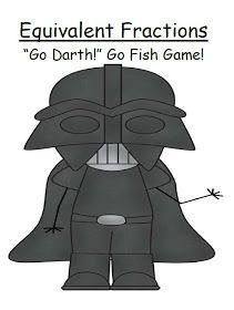 """Fern Smith's Classroom Ideas!: Fern's Freebie Friday ~ Star Wars Go Fish Game """"Go Darth!"""""""