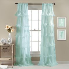 Lush Decor Nerina Single Curtain Panel & Reviews | Wayfair.ca