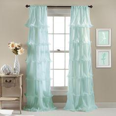 Lush Decor Nerina Single Curtain Panel & Reviews | Wayfair.ca