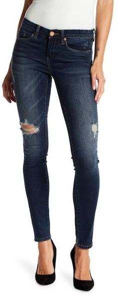 5618ee89 BLANKNYC Denim Distressed Mid Rise Skinny Jeans #fashion #style #shopping  #deals Mid