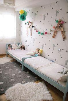 Décoration chambre deux enfants