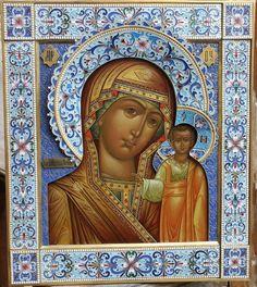 Казанская икона Божией Матери .