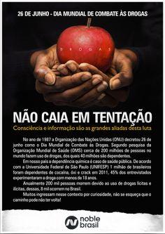 26 de junho - Dia Mundial de Combate às Drogas