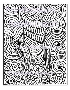 Coloring Page Fun Doodle 4