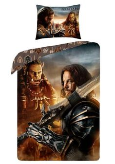 "Set letto ""Lothar"" di #Warcraft."