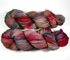 Speckled Hand Dyed Yarn Worsted, Crazy Rainbow Colors, Bright, Variegated, Superwash Merino Wool, Indie, Chaos Theory- Ready to Ship by DyeIsCastYarns on Etsy https://www.etsy.com/listing/507029568/speckled-hand-dyed-yarn-worsted-crazy