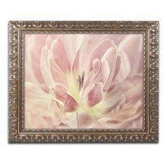 Trademark Fine Art 'Vintage Tulip' Canvas Art by Cora Niele, Gold Ornate Frame, Size: 16 x 20, Multicolor