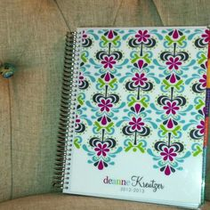 My very own Erin Condren Life Planner! THE best planner in the world. It is a God-send for grad school!  @erin condren