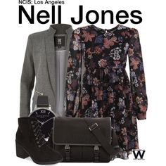 Inspired by Renée Felice Smith as Nell Jones on NCIS: Los Angeles.
