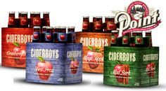 By Jacob Mathias  A range of hard ciders developed and brewed by the Stevens Point Brewery are now available in the Stevens Point Area.  The ciders, labeled under the name Ciderboys, were develope...
