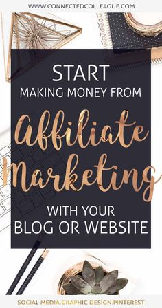 Want to make money online?  This post is AMAZING to start making money with your blog or website through Affiliate Marketing.  Start earning today! #affiliatemarketing #makemoneyfromhome