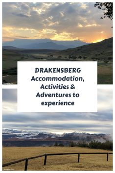 Drakensberg accommodation, activities and adventures to experience — Roaming Fox Visit South Africa, Africa Travel, World Heritage Sites, Where To Go, Family Travel, Travel Inspiration, Travel Photography, National Parks, Around The Worlds