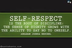 self respect quotes - Google Search