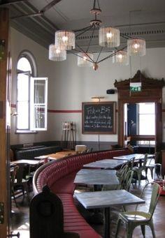 Jamie's Italian in Cheltenham, by Stiff & Trevillion  looks like old schoolhouse