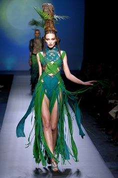 United Stage of World Tribal: Jean Paul Gautier's Spring 10 Haute Couture