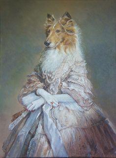 Empress Carmella by sololupo on DeviantArt  aka Valerie Leonard